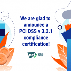 PCI DSS 3.2.1 compliance certification